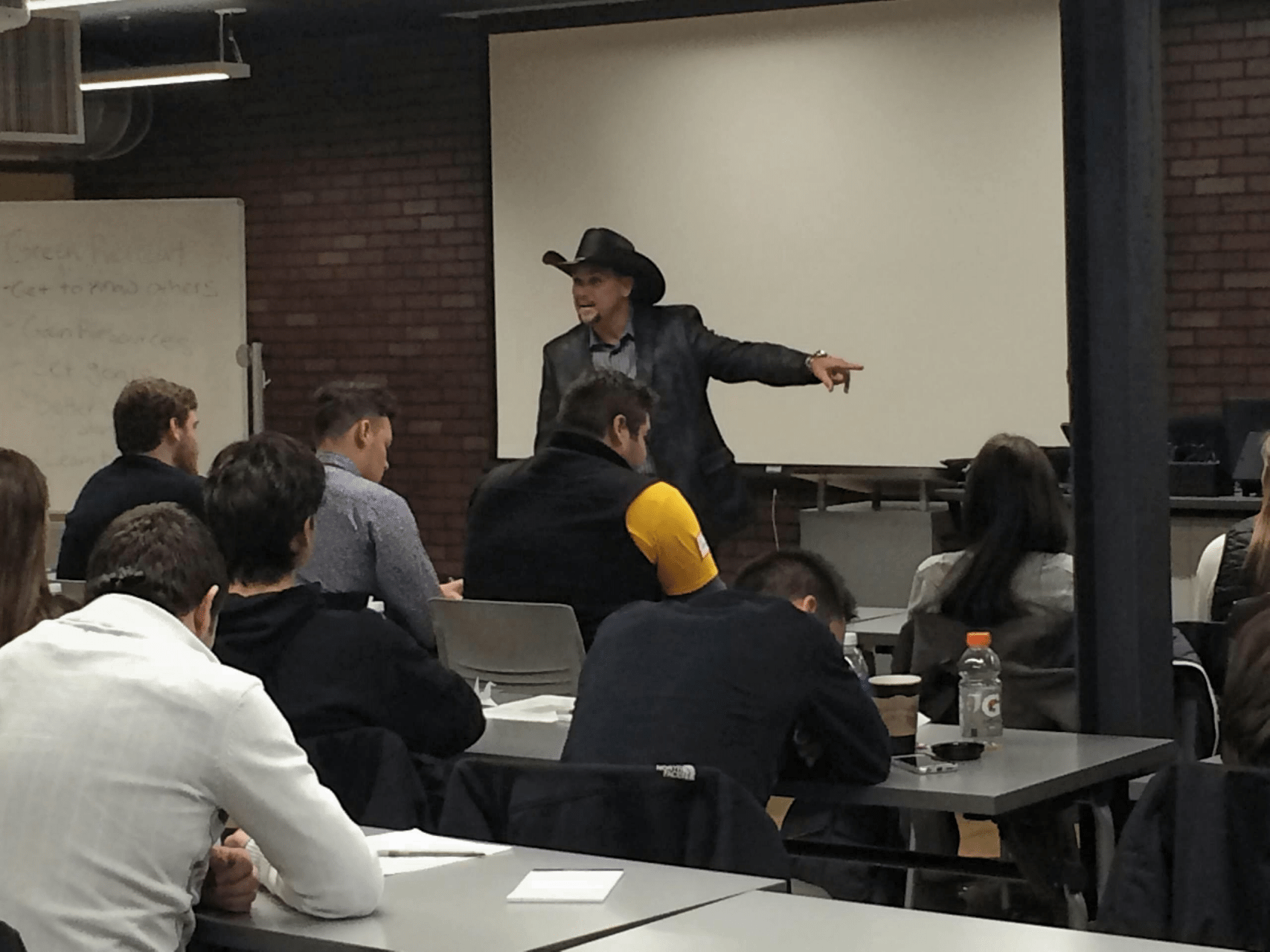 MOTIVATIONAL COWBOY SPEAKING